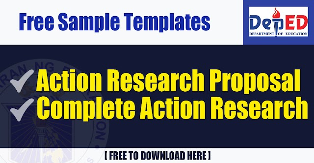 Free Sample Templates for Action Research Proposal and Complete Action Research
