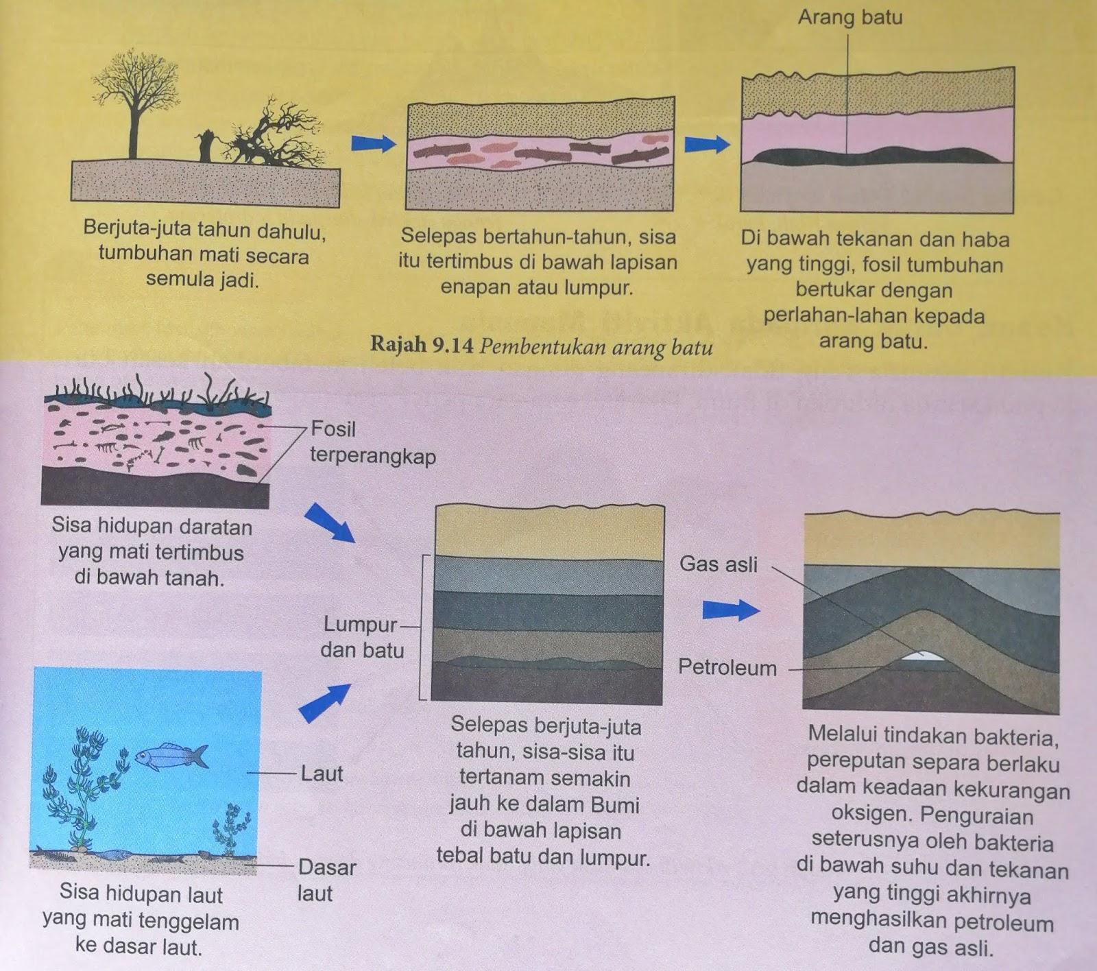 Proses Pembentukan Petroleum Dan Gas Asli Di Dalam Kerak Bumi
