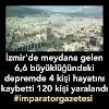 İzmirde deprem oldu. İzmir haberleri
