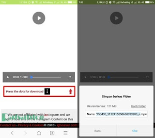Cara Download Video IGTV Instagram di Android