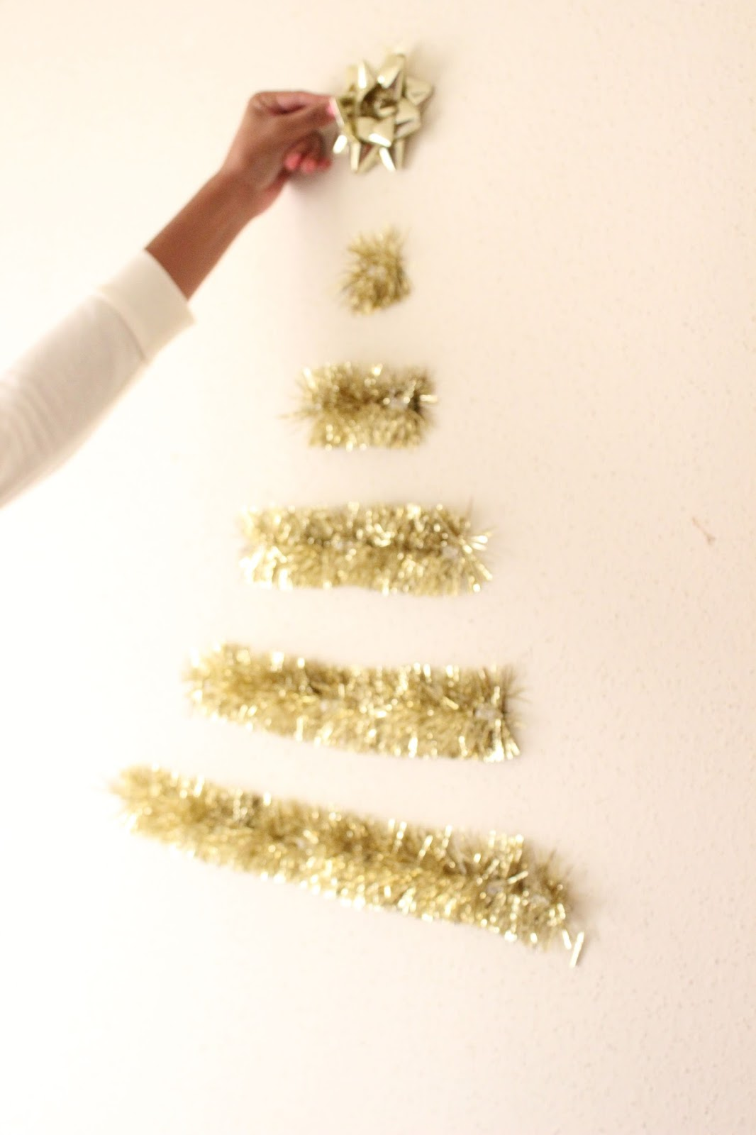 Garland Christmas Tree DIY
