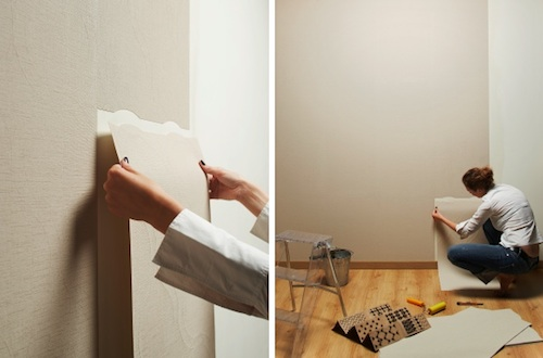 Hola tico tear off wallpaper - Tear off wallpaper by znak ...
