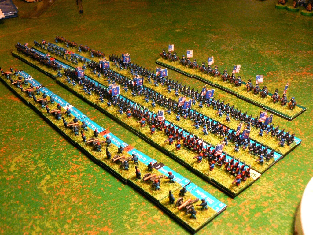 Jim Duncan Wargamer: Baccus 6mm ACW - Army of the Potomac