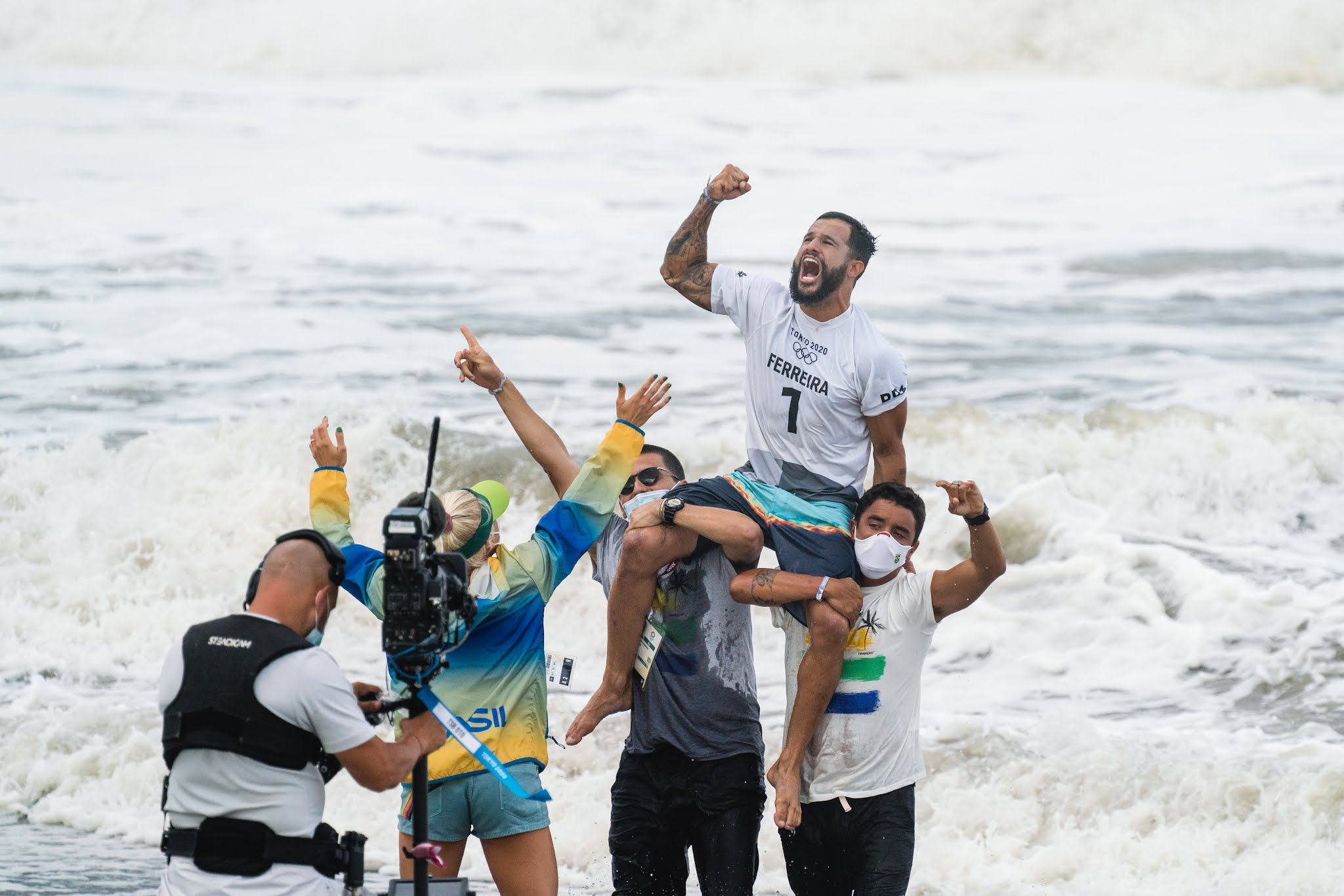 Men s Surfing Final Highlights Olympic Games Tokyo 2020