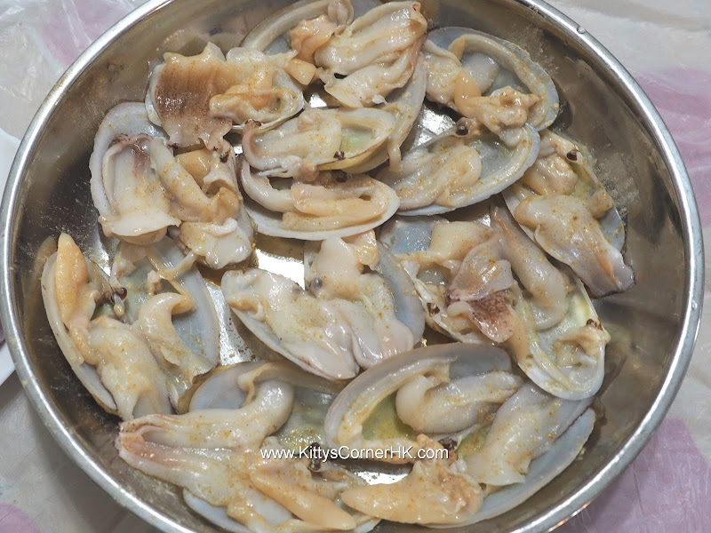 How to clean Baby Geoduck Clams 如何清洗象拔蚌 自家食譜 home recipes
