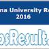 Krishna University Result 2016 Check UG/PG Mark Sheet