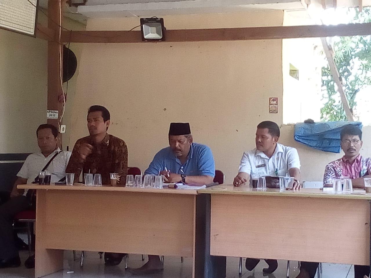 Panitia Pilkades Pagenjahan Gelar Rapat Pleno DPT