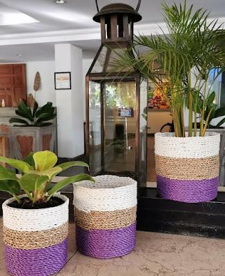pot anyam kekinian warna ungu ~ helloshabby : interior