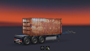 Rusty standalone trailer