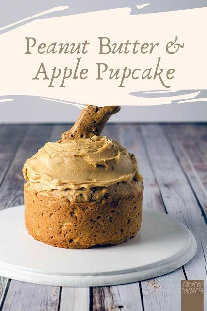 Peanut Butter & Apple Pupcake