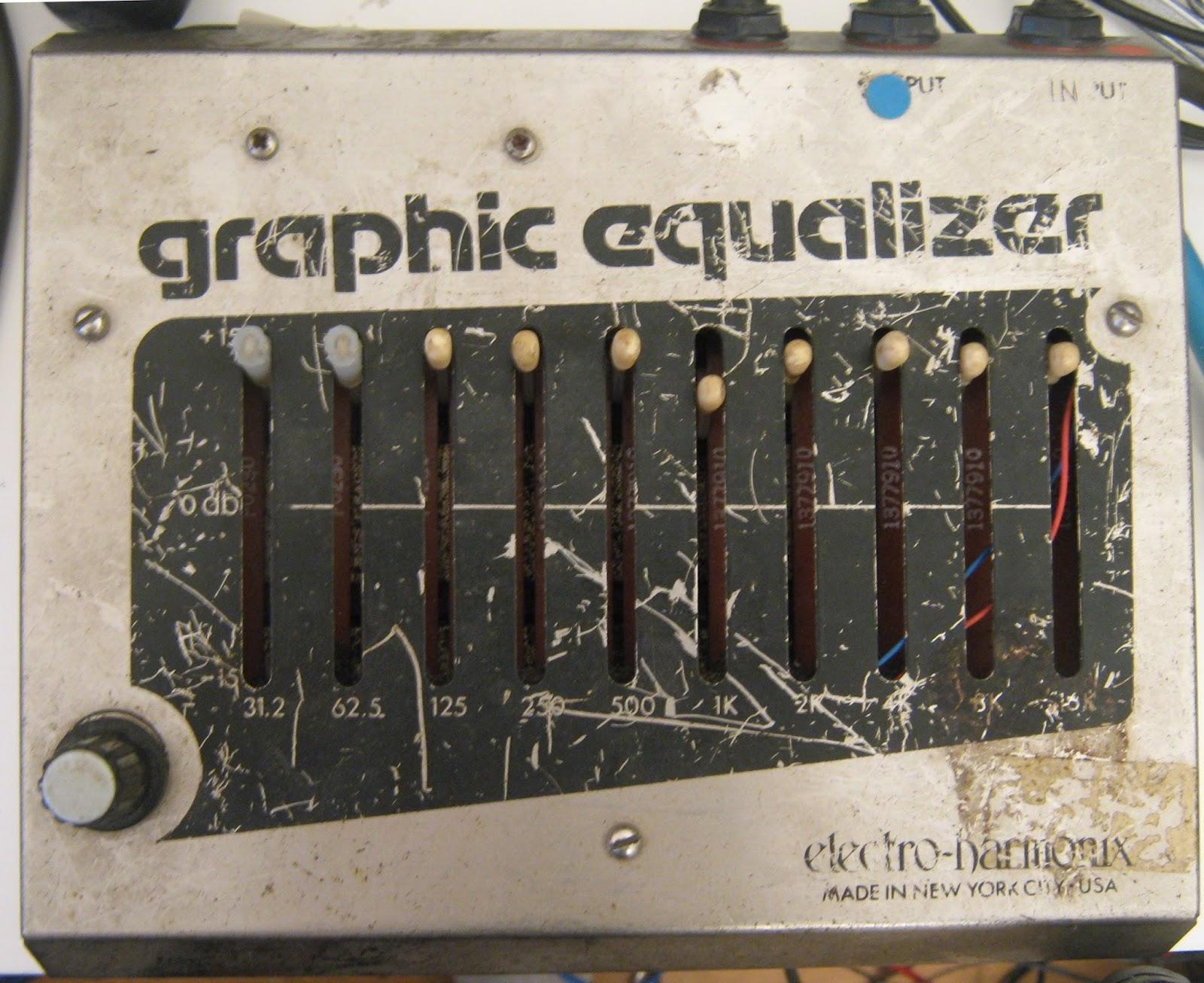 false electronics electro harmonix graphic equalizer