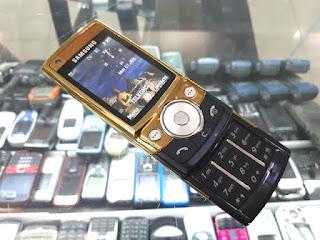 Samsung SGH-G600 Anti Sadap Stealth Phone IMEI Change LCD Bergaris