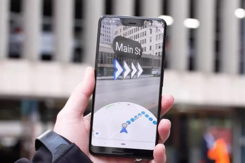 The New Google Maps Will Alert You To This Update And Look Not Lose Your Way With Enhanced Reality
