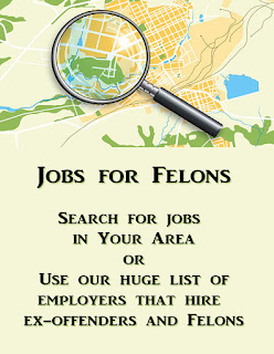 Search jobs for felons