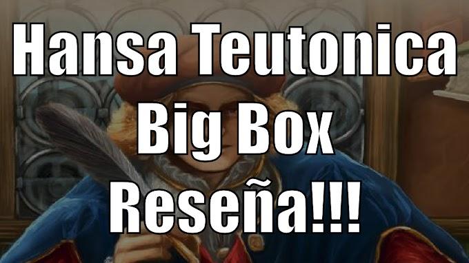 Hansa Teutonica El juego de mesa Reseña!!!