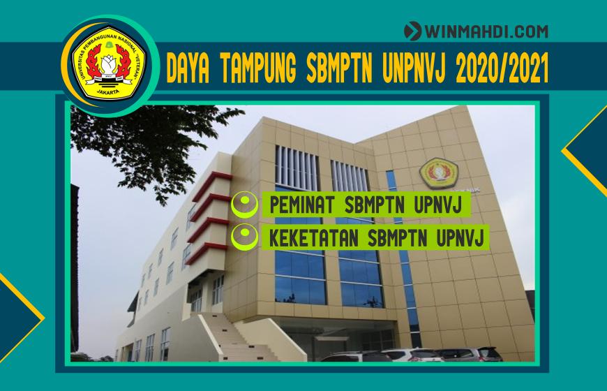 DAYA TAMPUNG SBMPTN UPNVJ 2020-2021