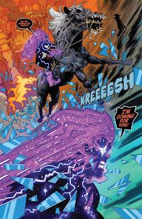 "Reseña de ""100% Marvel HC. La Venganza del Motorista Fantasma Cósmico"" de Scott Hepburn y Dennis ""Hopeless"" Hallum - Panini Comics"
