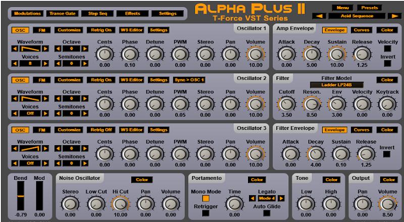 T-Force Alpha Plus 2