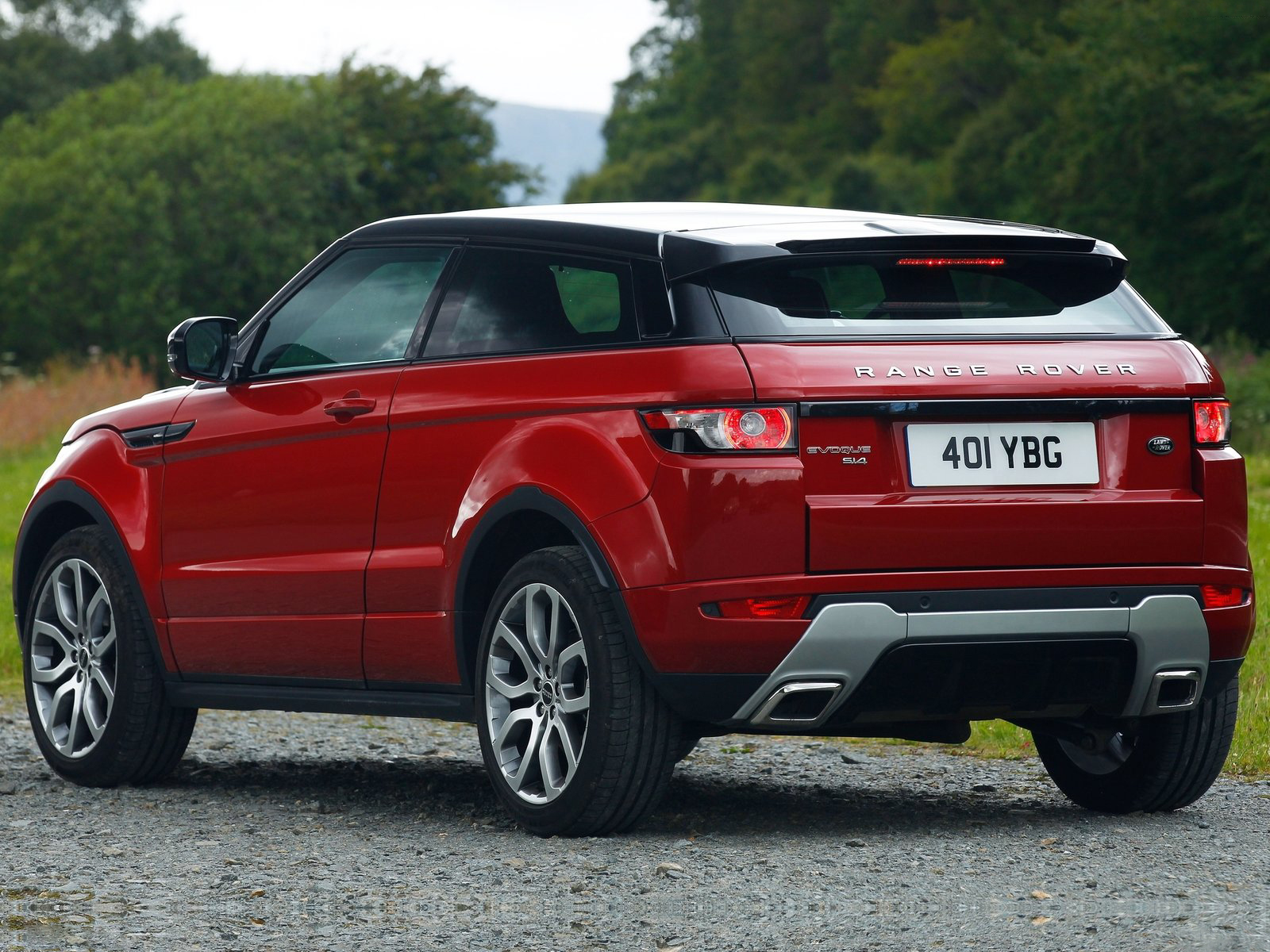 Automotive Database: Range Rover Evoque