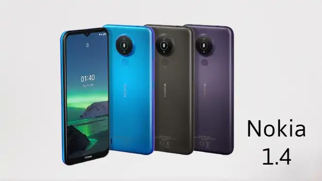 Nokia 1.4 Arrives at an affordable price with a 6.51-inch display