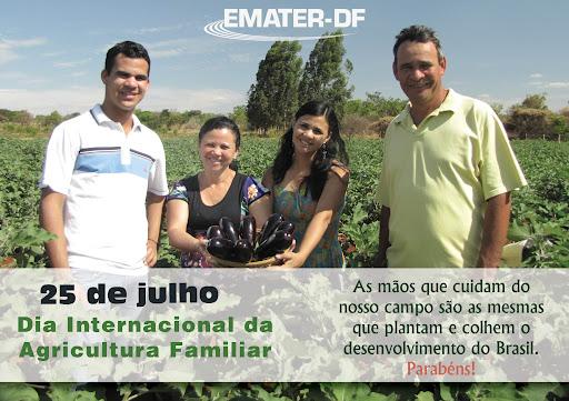 25/7 - Dia Internacional da Agricultura Familiar