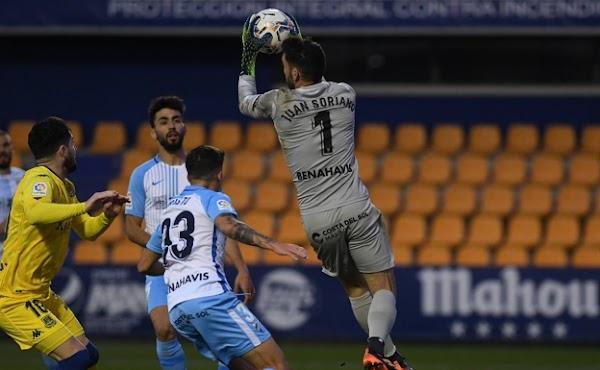 """Juan Soriano - Málaga - en la celebración del gol de Pablo Chavarría: """"Me salió así"""""""