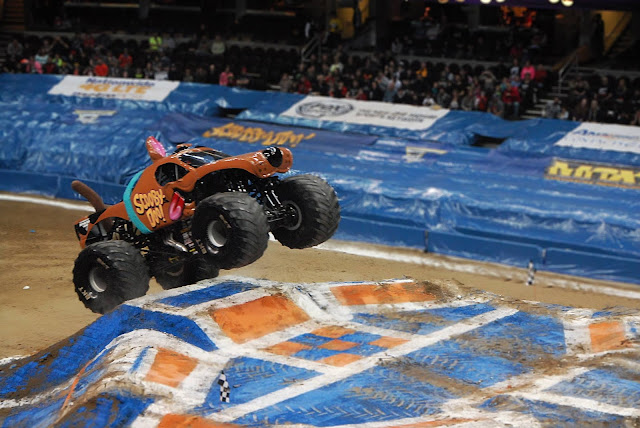 Monster Jam Triple Threat in CLE | Scooby Doo
