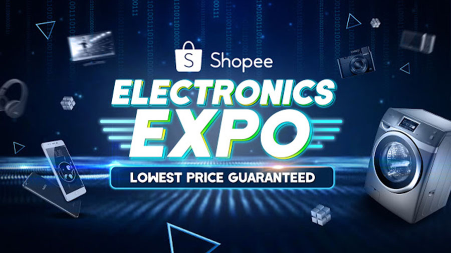 SCORE ELECTRIFYING DISCOUNTS AT SHOPEE'S ELECTRONICS EXPO THIS JULY