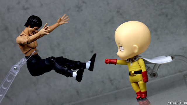 one punch man knocked out brucelee