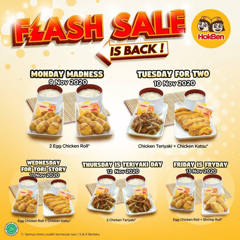 Promo Hokben Flash Sale Terbaru Setiap Senin - Jumat