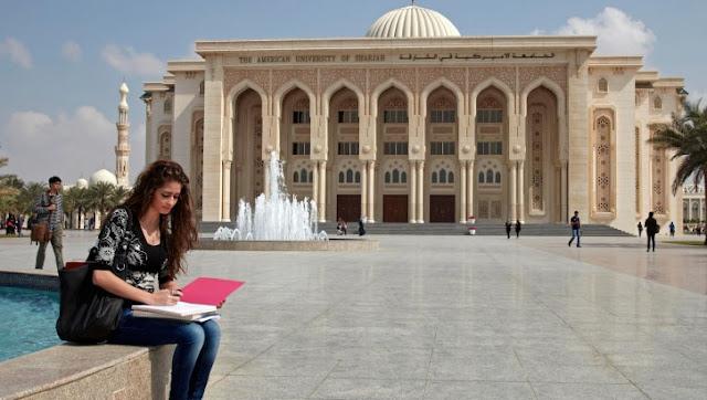 وظائف خالية فى جامعة الشارقة فى الإمارات 2019