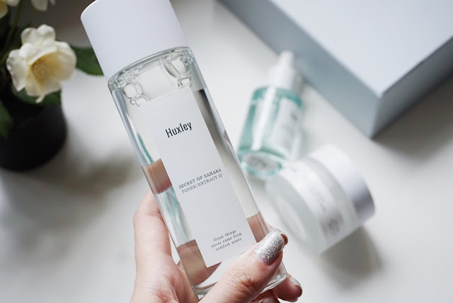 huxley skincare extract it toner