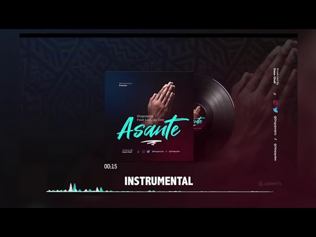 Instrumental | Dogo Janja Ft. Lady JayDee – Asante (Beat)