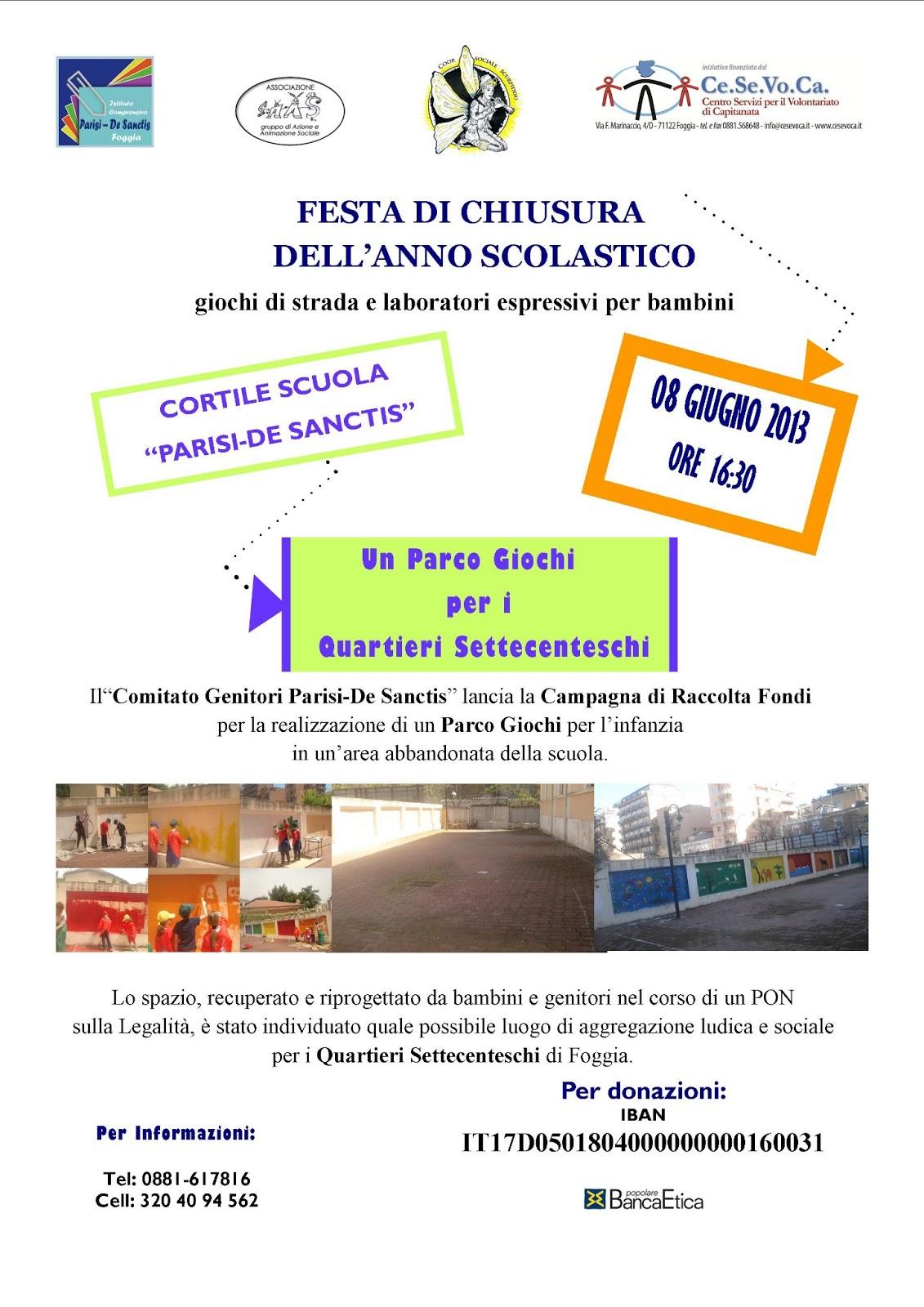 Preferenza Un Parco Giochi per i Quartieri Settecenteschi IO09