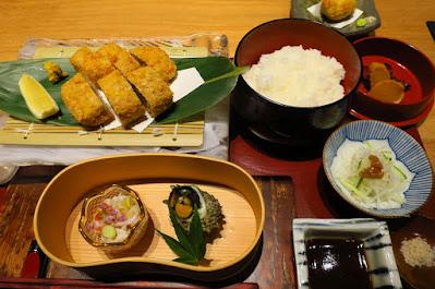 Suigei Sake Salon, otoro katsu teishoku