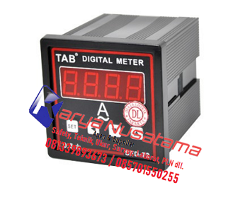 Jual Digital Ampere Meter Via CT /5A AC di Jombang