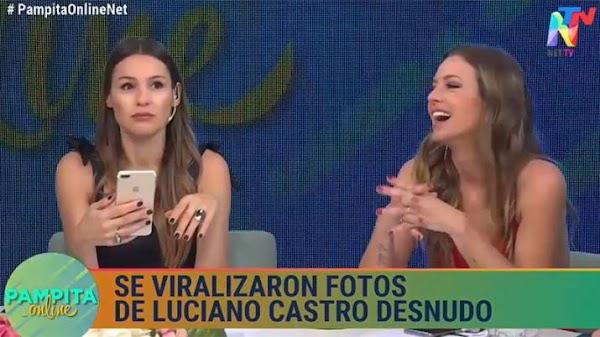 La reacción de Pampita al ver las fotos de Luciano Castro: ''Si esto está así...''