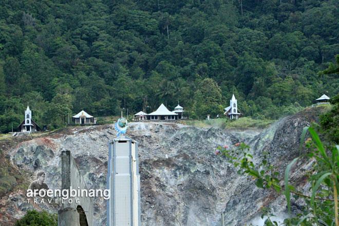 jalur pendakian pinggang bukit kasih minahasa sulawesi utara