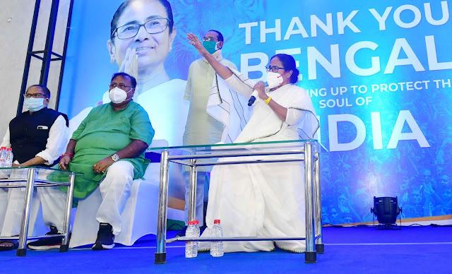 बंगाल में ममता 5 मई को सीएम पद की शपथ लेंगी