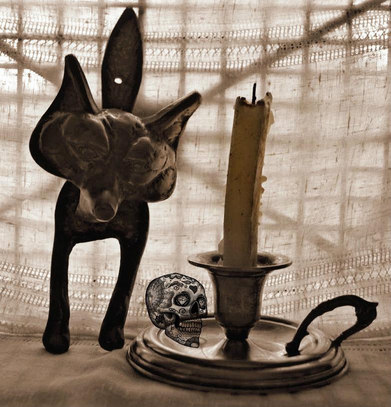 halloween, día de todos los santos, decoración, antigüedades, metal, ideas