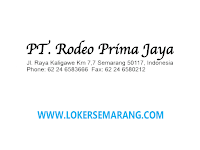 Loker Semarang Merchandiser Lulusan S1 di PT Rodeo Prima Jaya