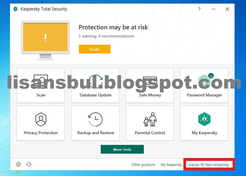 Kaspersky Total Security 2019 (90 Days Trial Giveaway