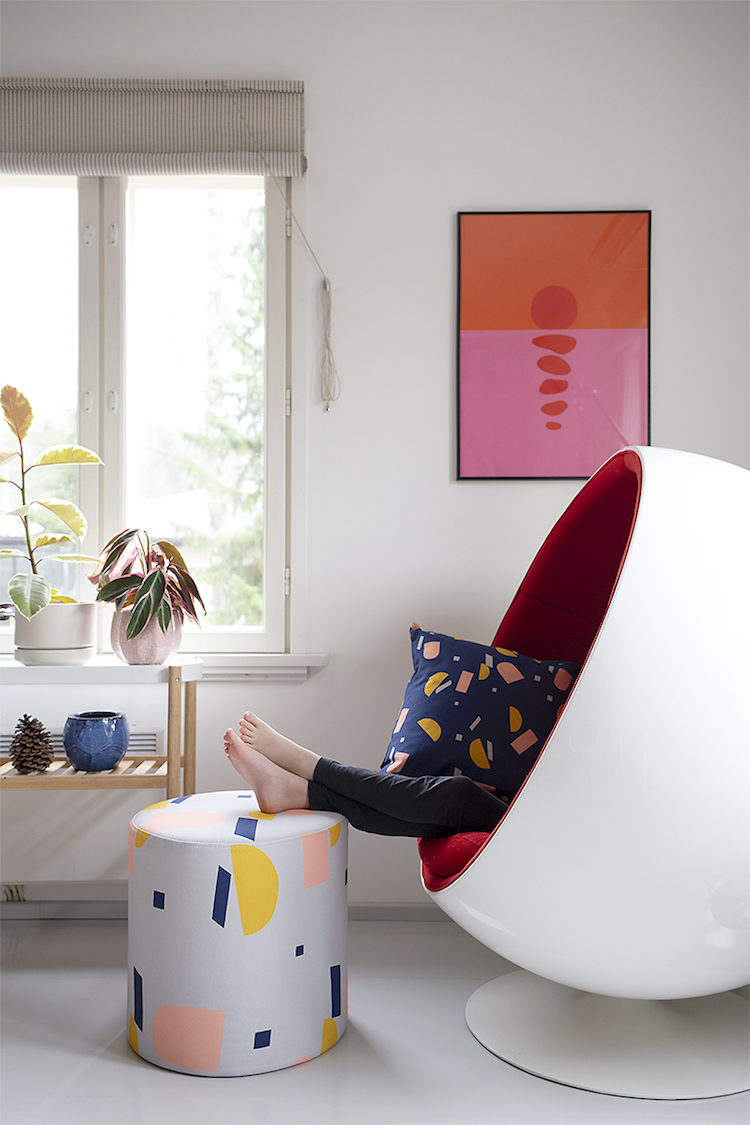 my scandinavian home: The Happy, Vibrant Home of a Finnish Designer