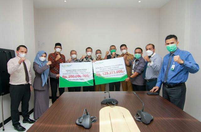 Bank Aceh Realisasikan Komitmen Donasi 'Bank Aceh Peduli Sulbar'