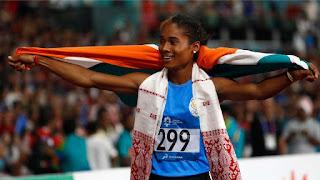 Athletics: Hima Das won the fourth gold in 15 days
