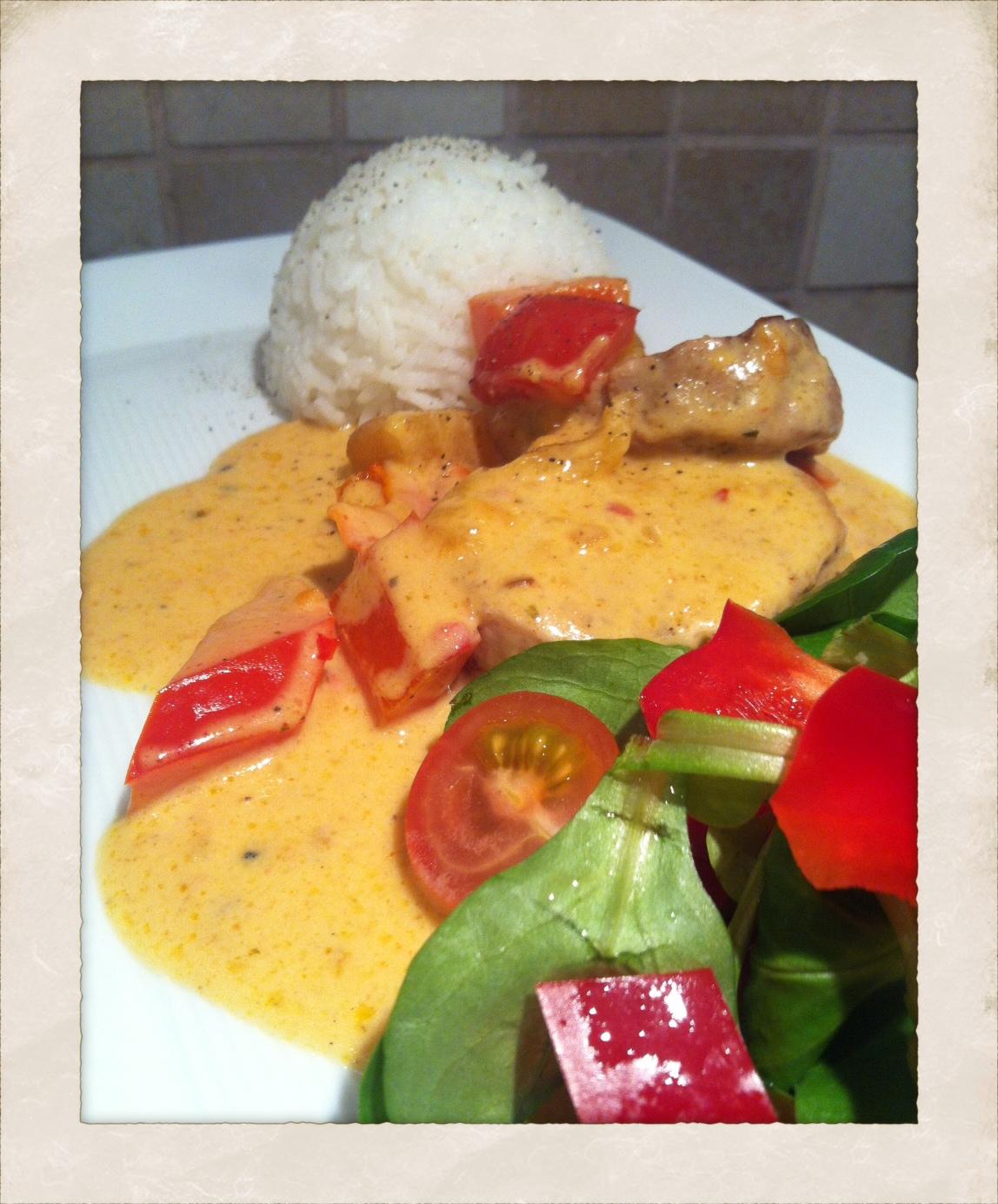 mitt kök kyckling curry