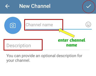 how to create telegram channel in hindi