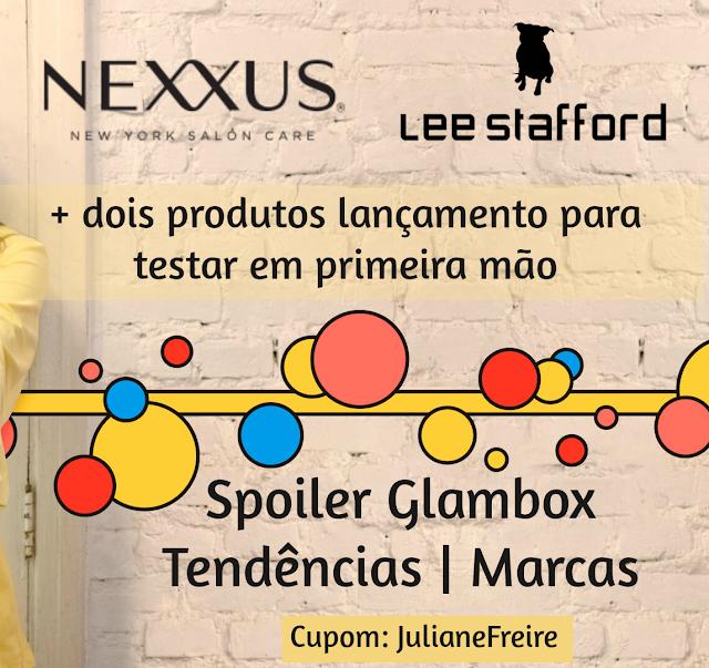 SPOILER GLAMBOX TENDENCIAS 4 CAIXAS