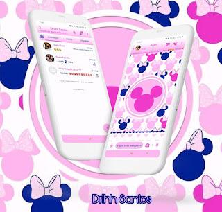 Minnie Cute Theme For YOWhatsApp & Fouad WhatsApp By Driih Santos