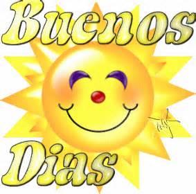 sol sonriendo Buenos Dias